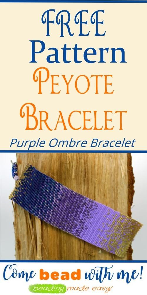 Ombre Peyote Bracelet