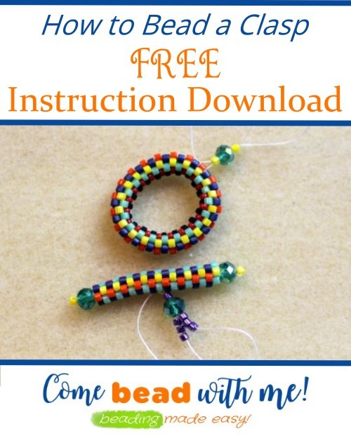 How to bead a Clasp