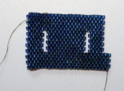 how to bead a hole