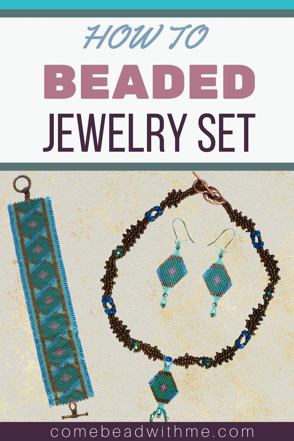 Beading Pattern with Seed Beads