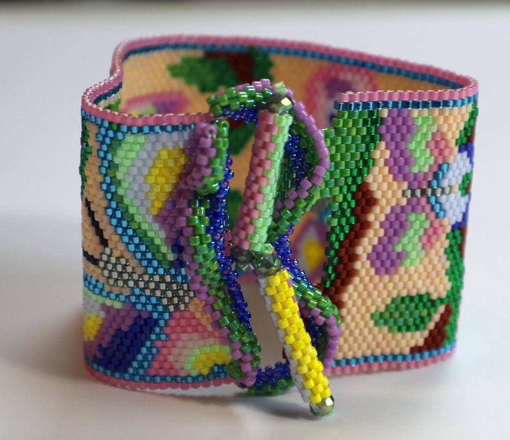 peyote stitch clasp