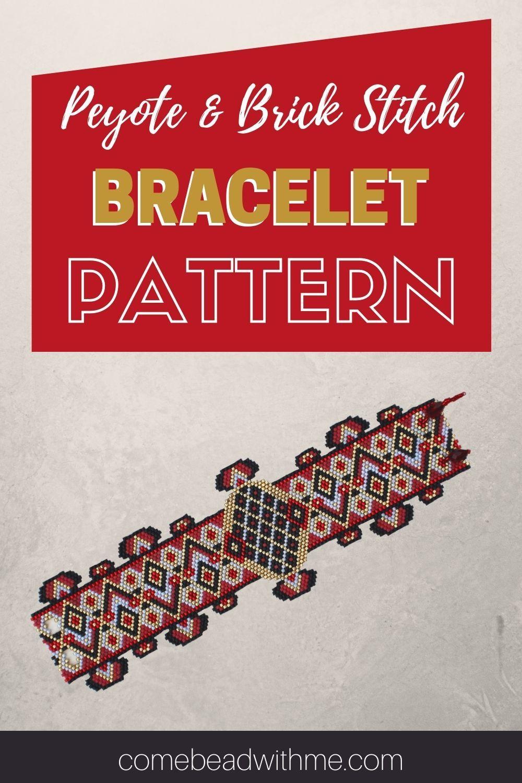 Peyote Stitch Bracelet Clasp