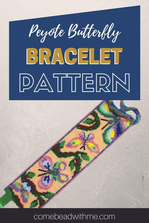 Butterfly Peyote Stitch Pattern