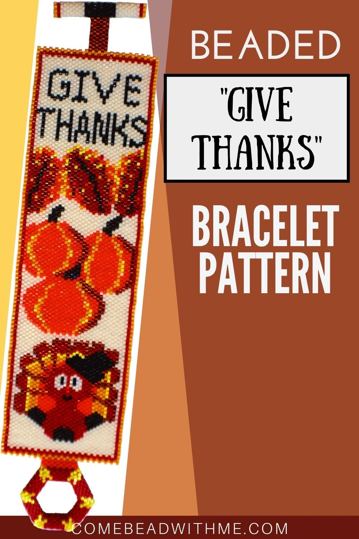 Halloween Beaded Bracelet Patterns