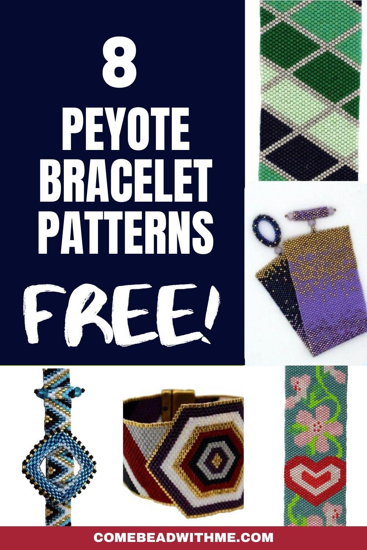 Free Peyote Bracelet Patterns