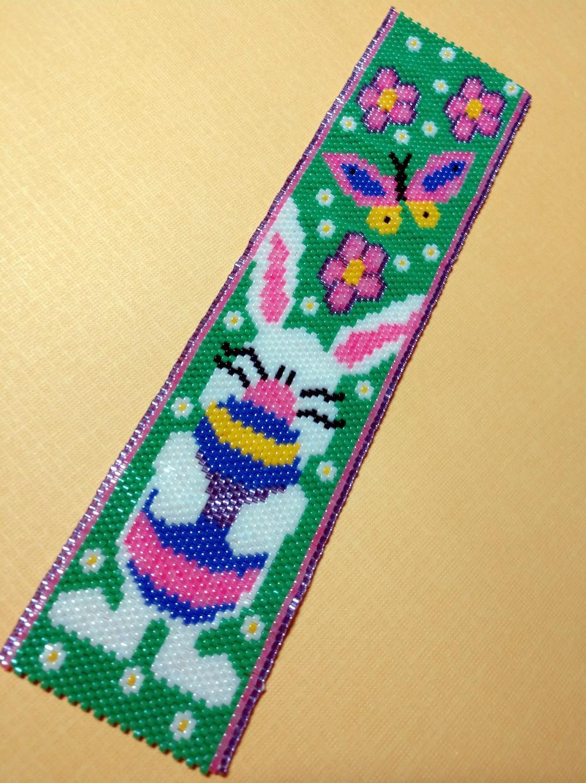 bunny with flowers bracelet second version
