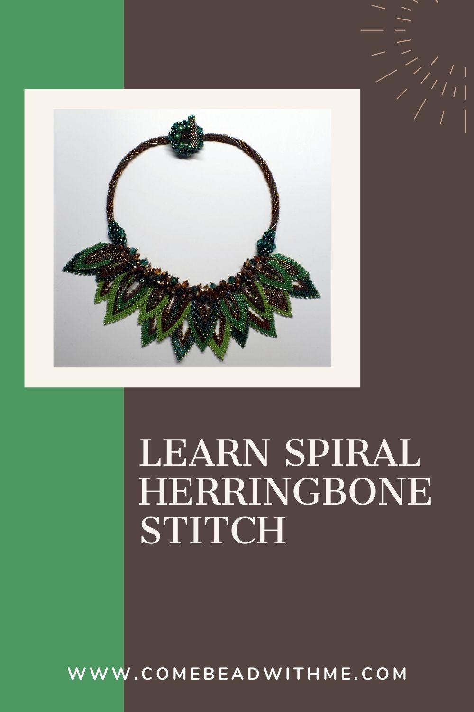 Bead Tubular Herringbone Stitch