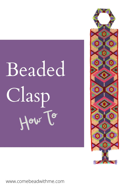 Beaded Clasp – Sherry Bracelet